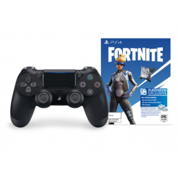 Control PS4 DS4 Black + Fortnite