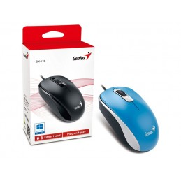 Mouse Genius DX-110 USB Azul